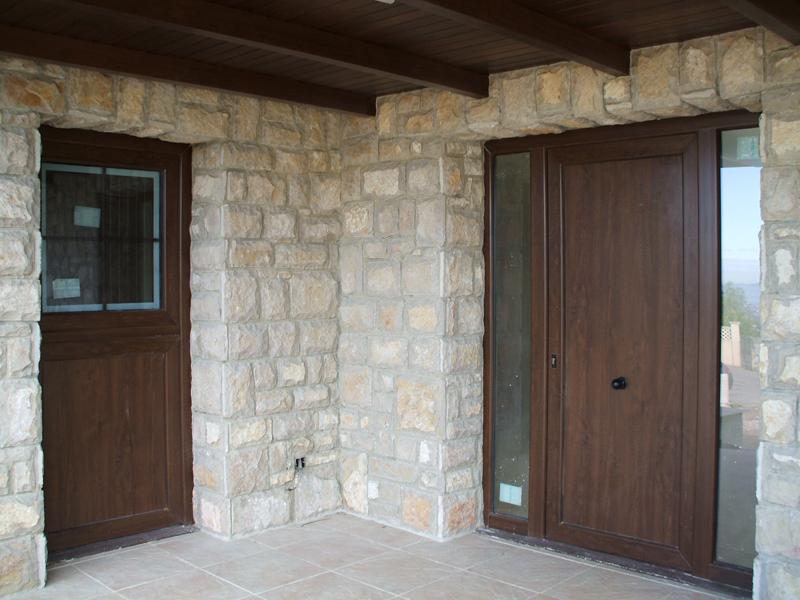 Puertas r sticas vetenor for Puertas de aluminio rusticas